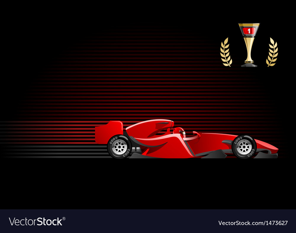 Formula 1 vector | Price: 3 Credit (USD $3)