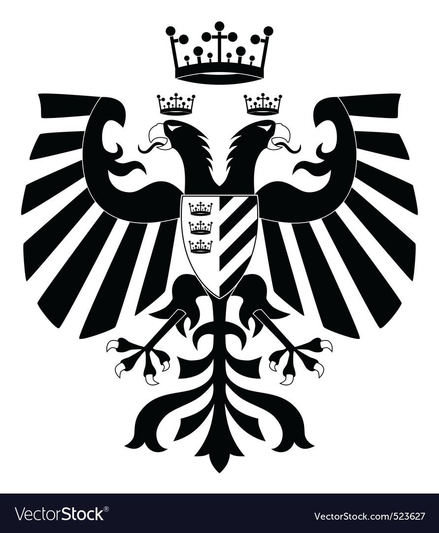 Heraldic eagle vector | Price: 1 Credit (USD $1)