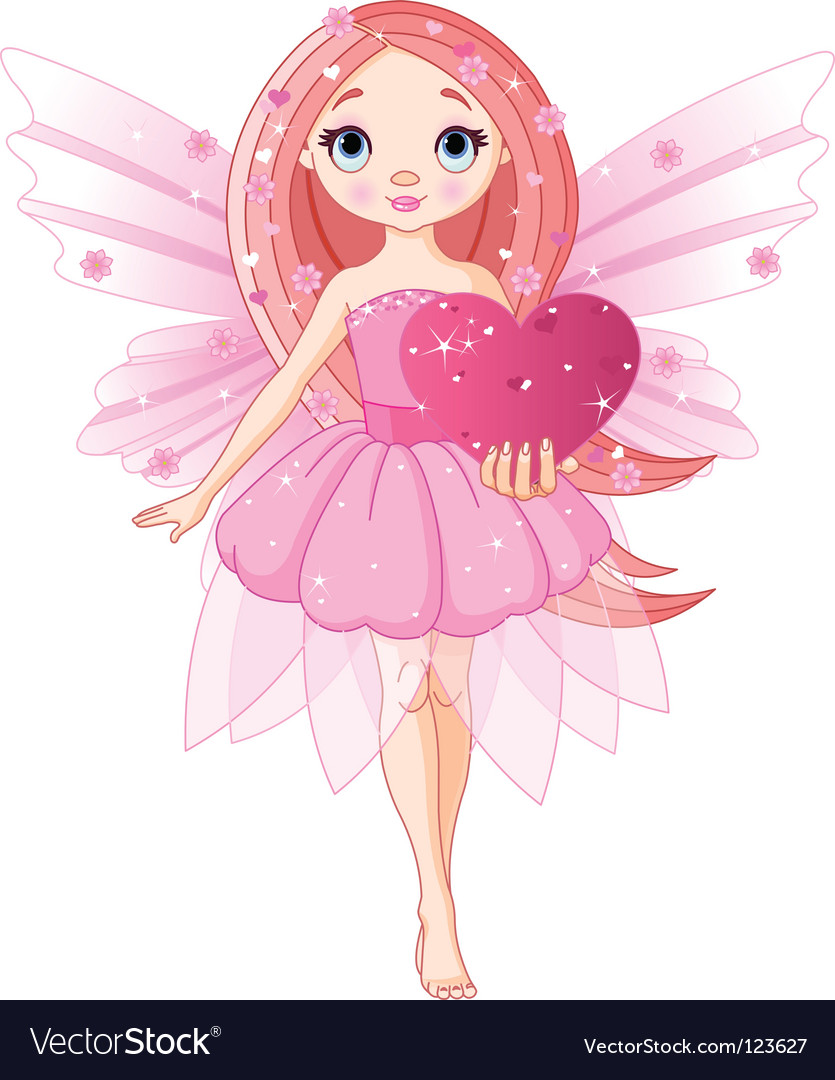 Love fairy vector | Price: 1 Credit (USD $1)