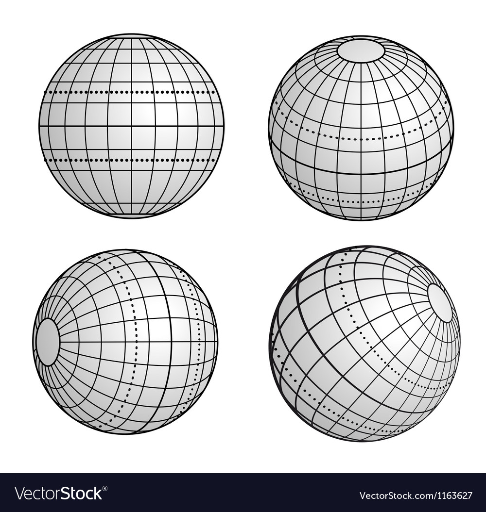Original globe vector | Price: 1 Credit (USD $1)