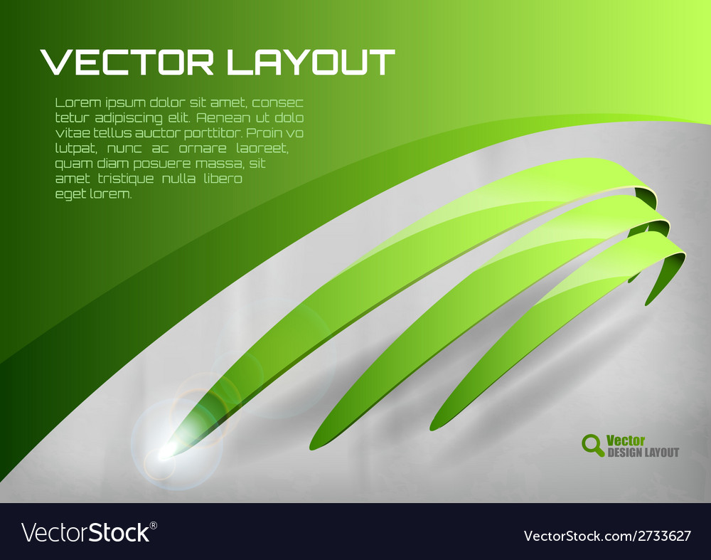 Stripes green vector | Price: 1 Credit (USD $1)