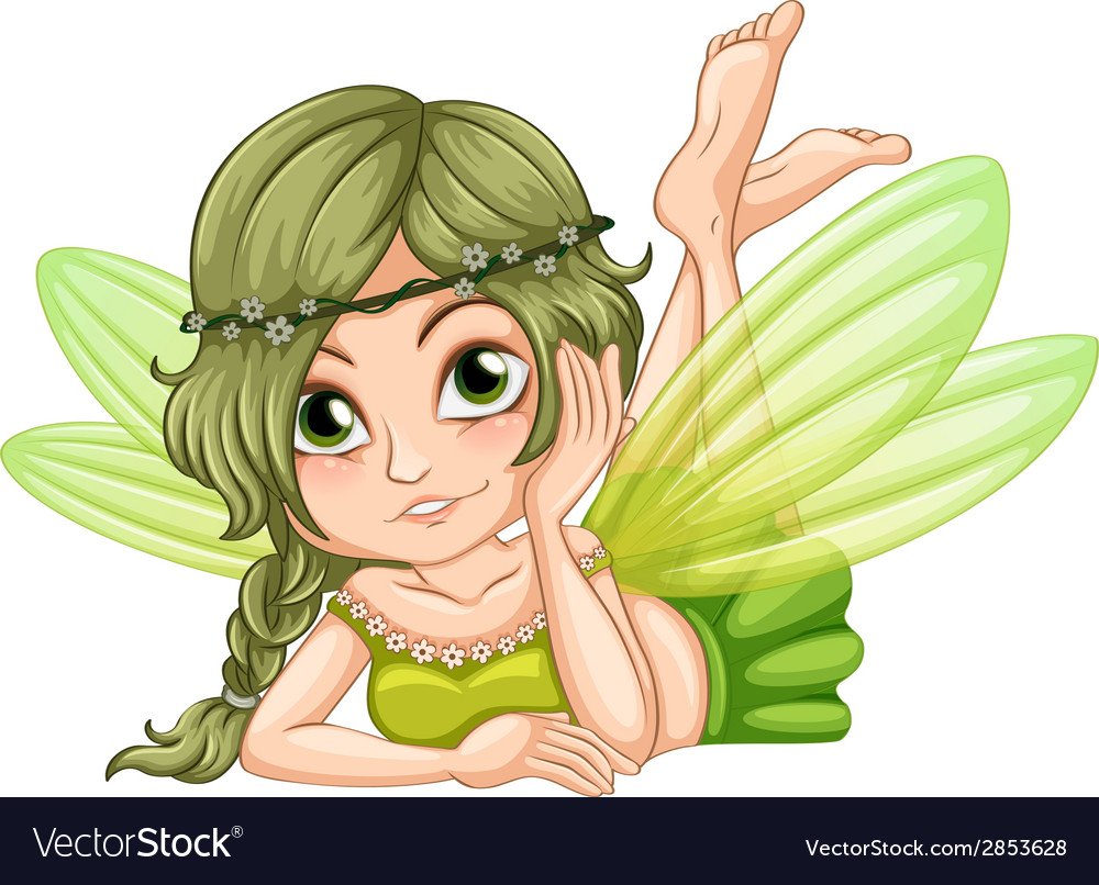 Gree fairy vector | Price: 3 Credit (USD $3)