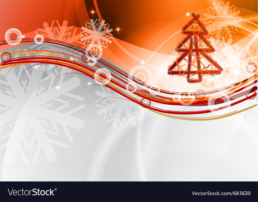 Christmas wave vector | Price: 1 Credit (USD $1)