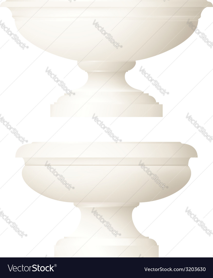 Classic style decorative vase vector | Price: 1 Credit (USD $1)