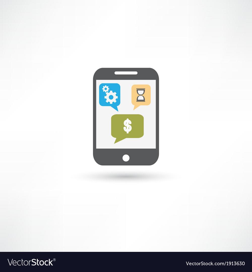 Repairing mobile phone color vector | Price: 1 Credit (USD $1)