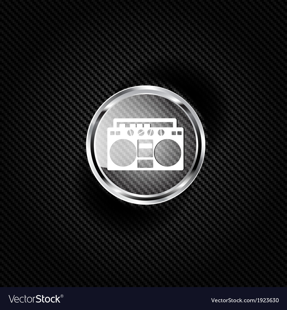 Retro tape recorder hipster style vector   Price: 1 Credit (USD $1)