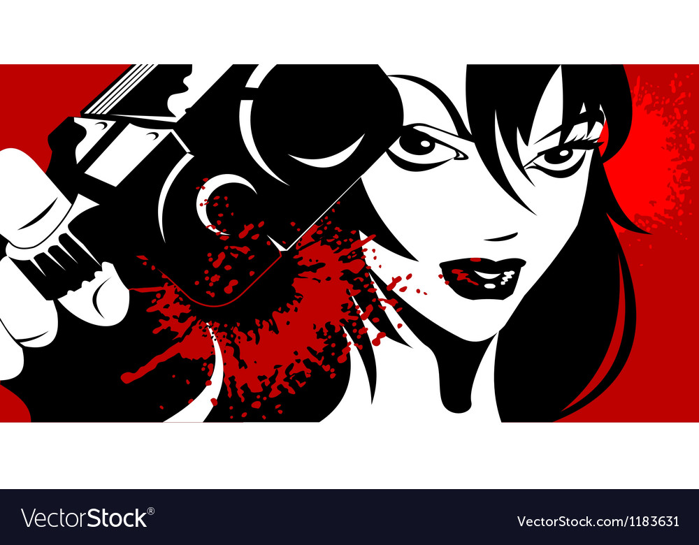Beauty killer vector | Price: 1 Credit (USD $1)