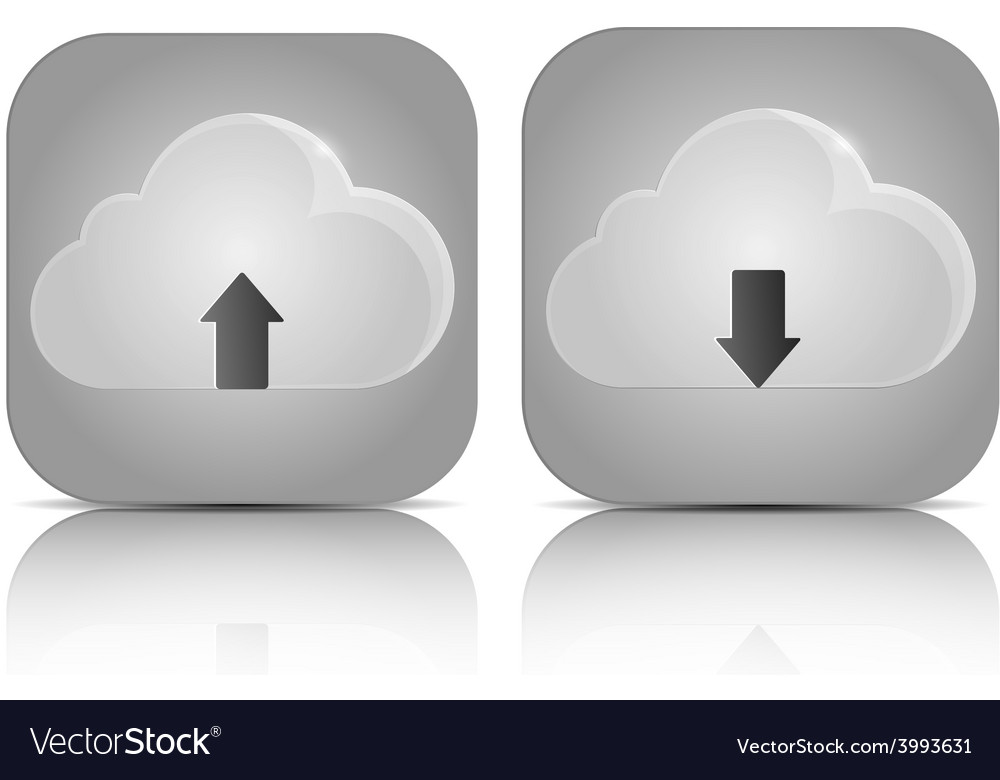 Icons cloud service vector | Price: 1 Credit (USD $1)