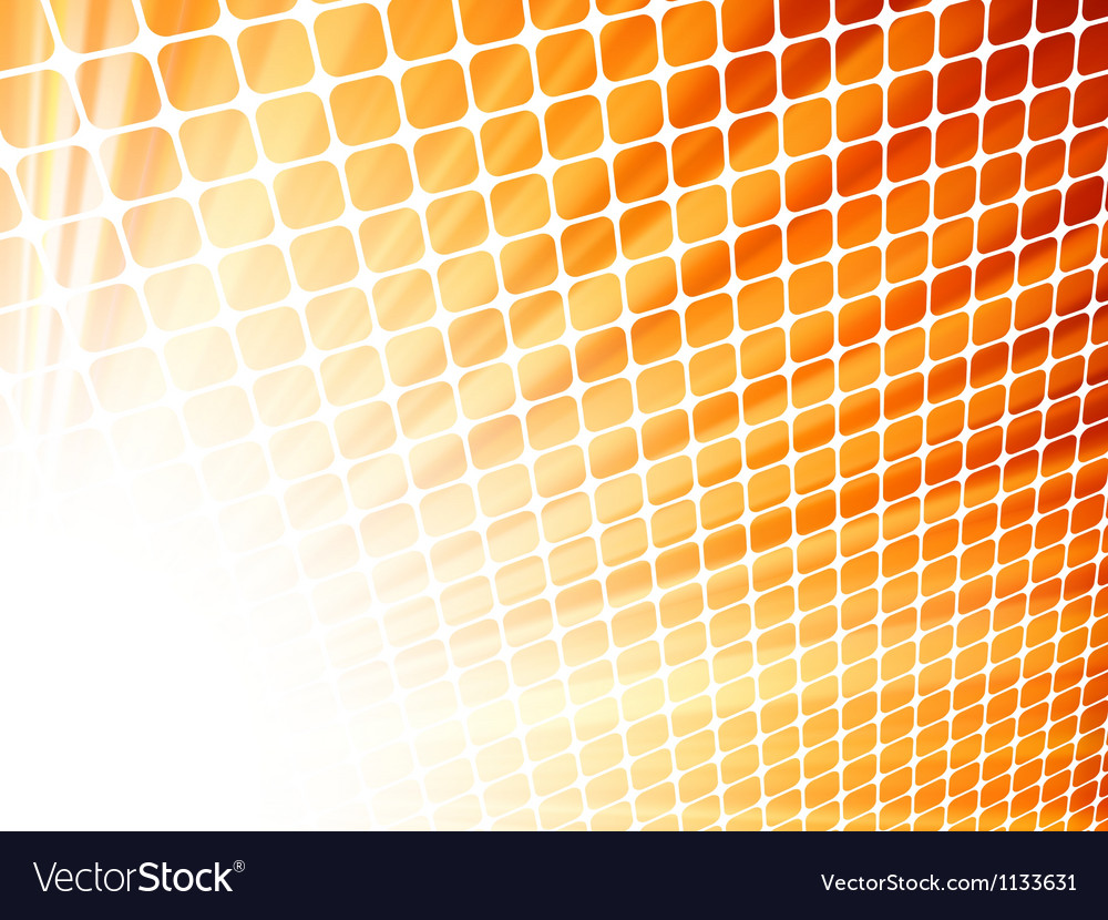 Red yelloe rays light 3d mosaic eps 8 vector | Price: 1 Credit (USD $1)