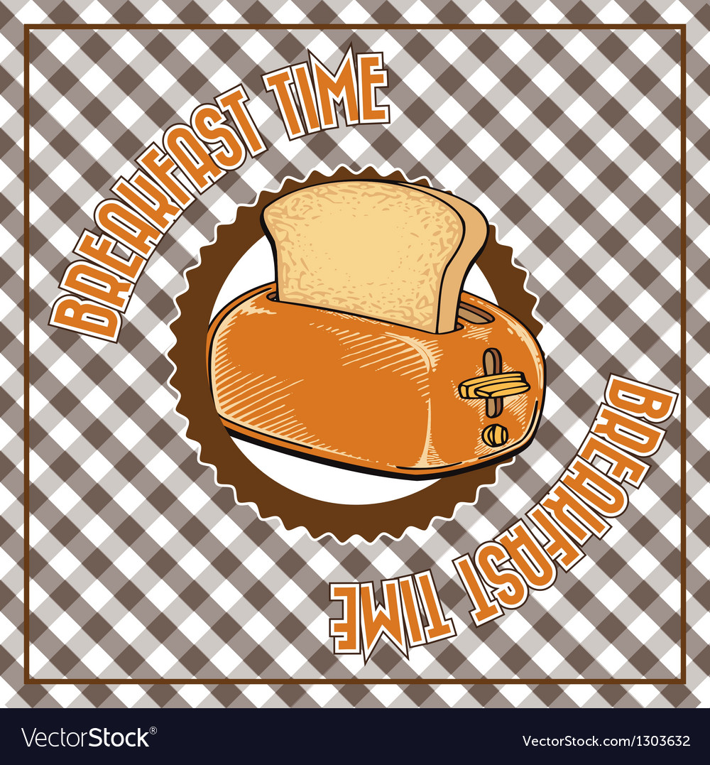 Breakfast time vector | Price: 3 Credit (USD $3)