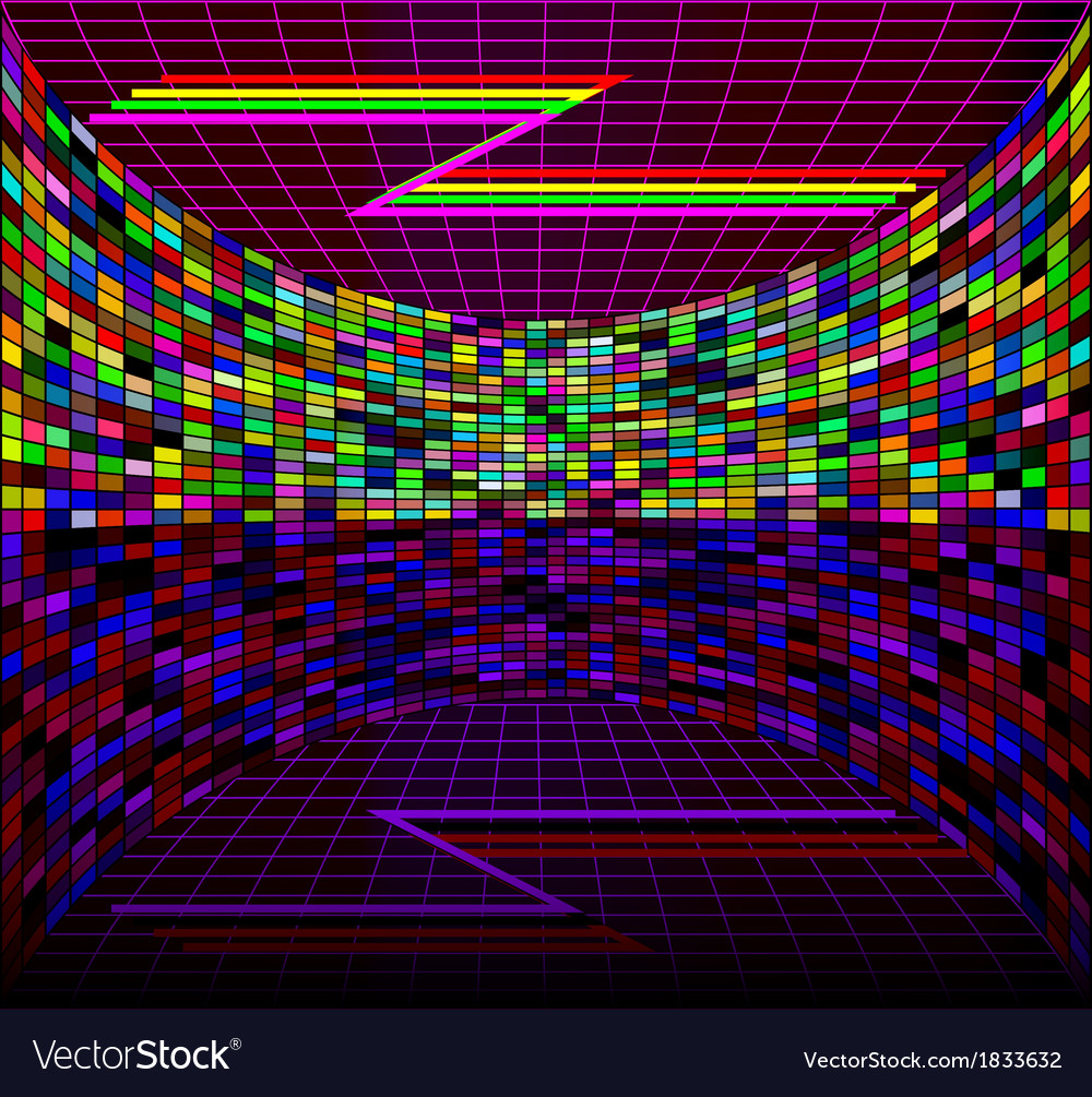Digital background with the wall vector | Price: 1 Credit (USD $1)