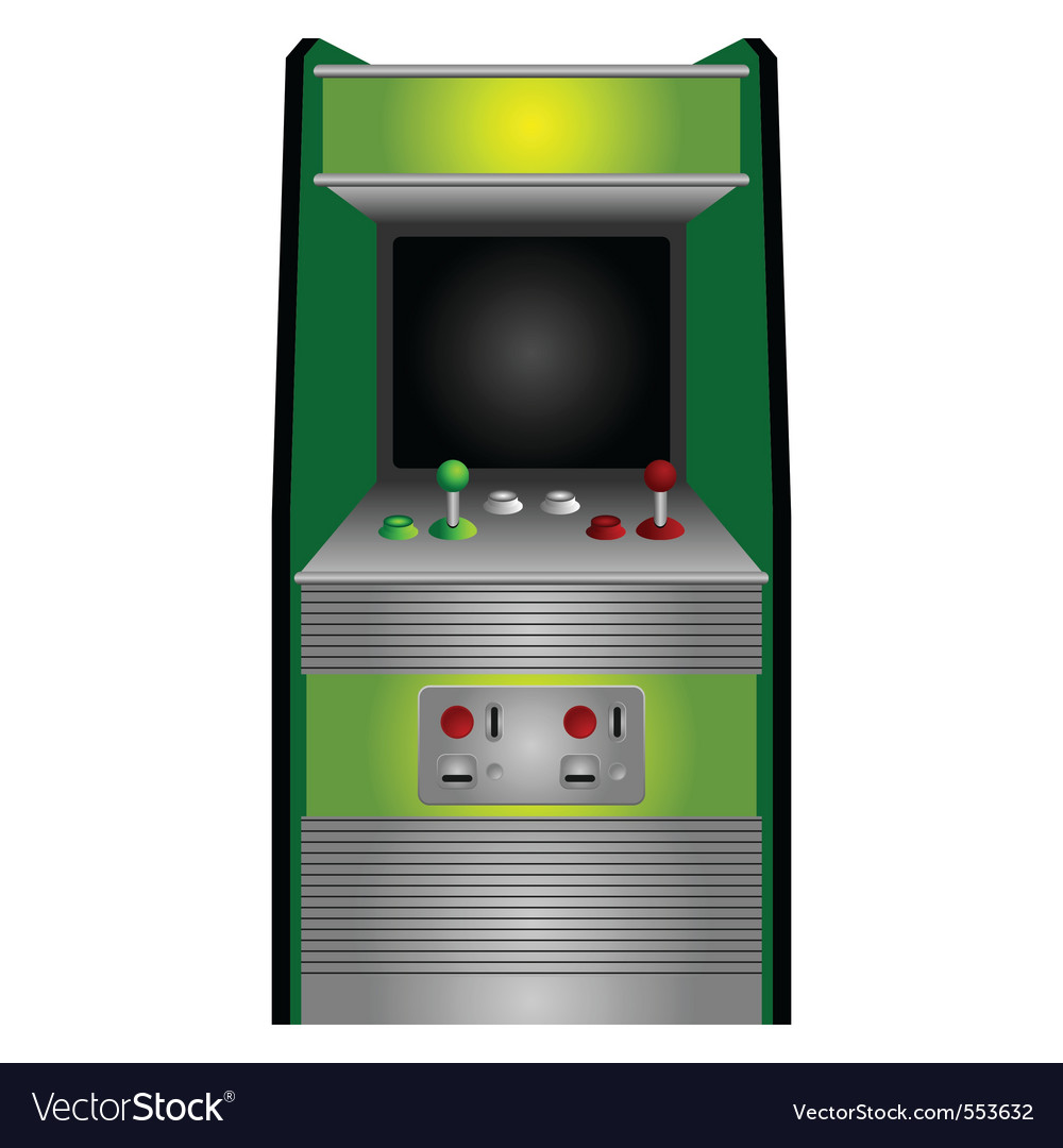 Vintage arcade vector | Price: 1 Credit (USD $1)