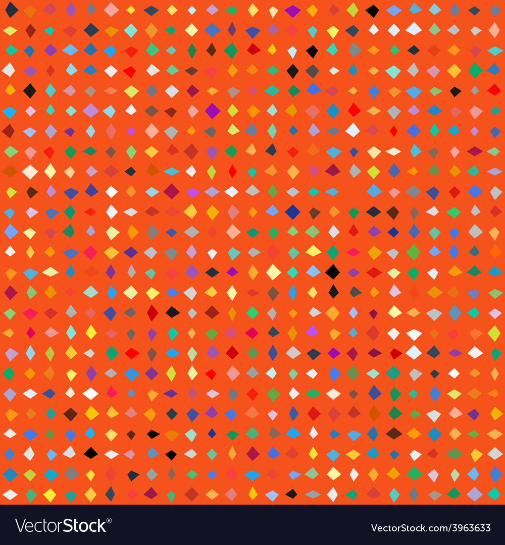 Small ditsy pattern with diamond shapes vector | Price: 1 Credit (USD $1)