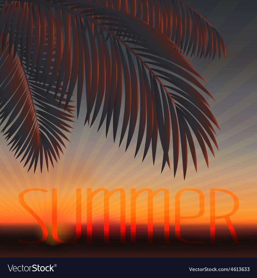 Sundown vector   Price: 1 Credit (USD $1)