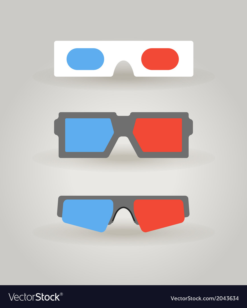 3dglasses vector | Price: 1 Credit (USD $1)