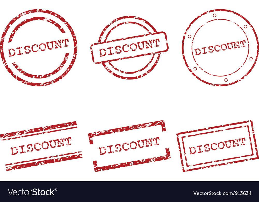 Discount stamps vector | Price: 1 Credit (USD $1)