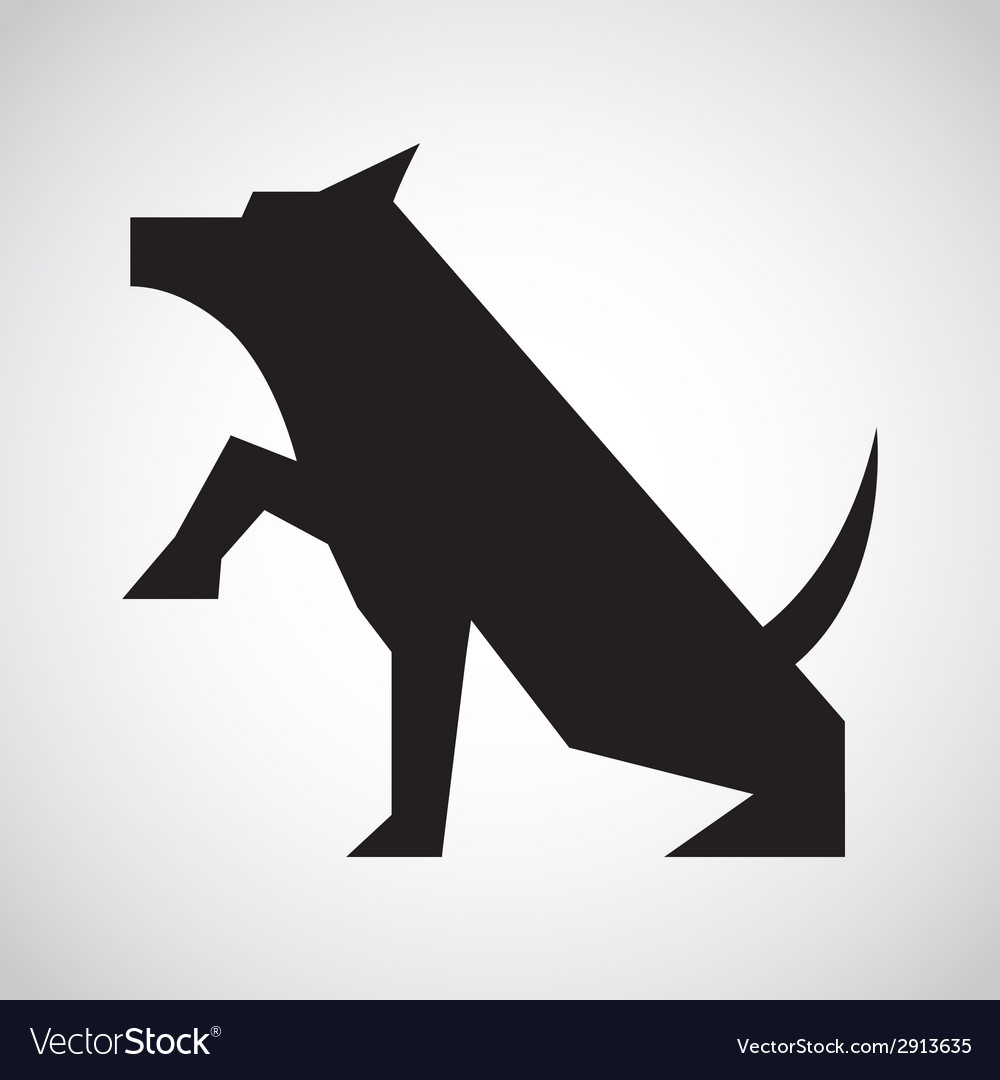 Dog design vector | Price: 1 Credit (USD $1)