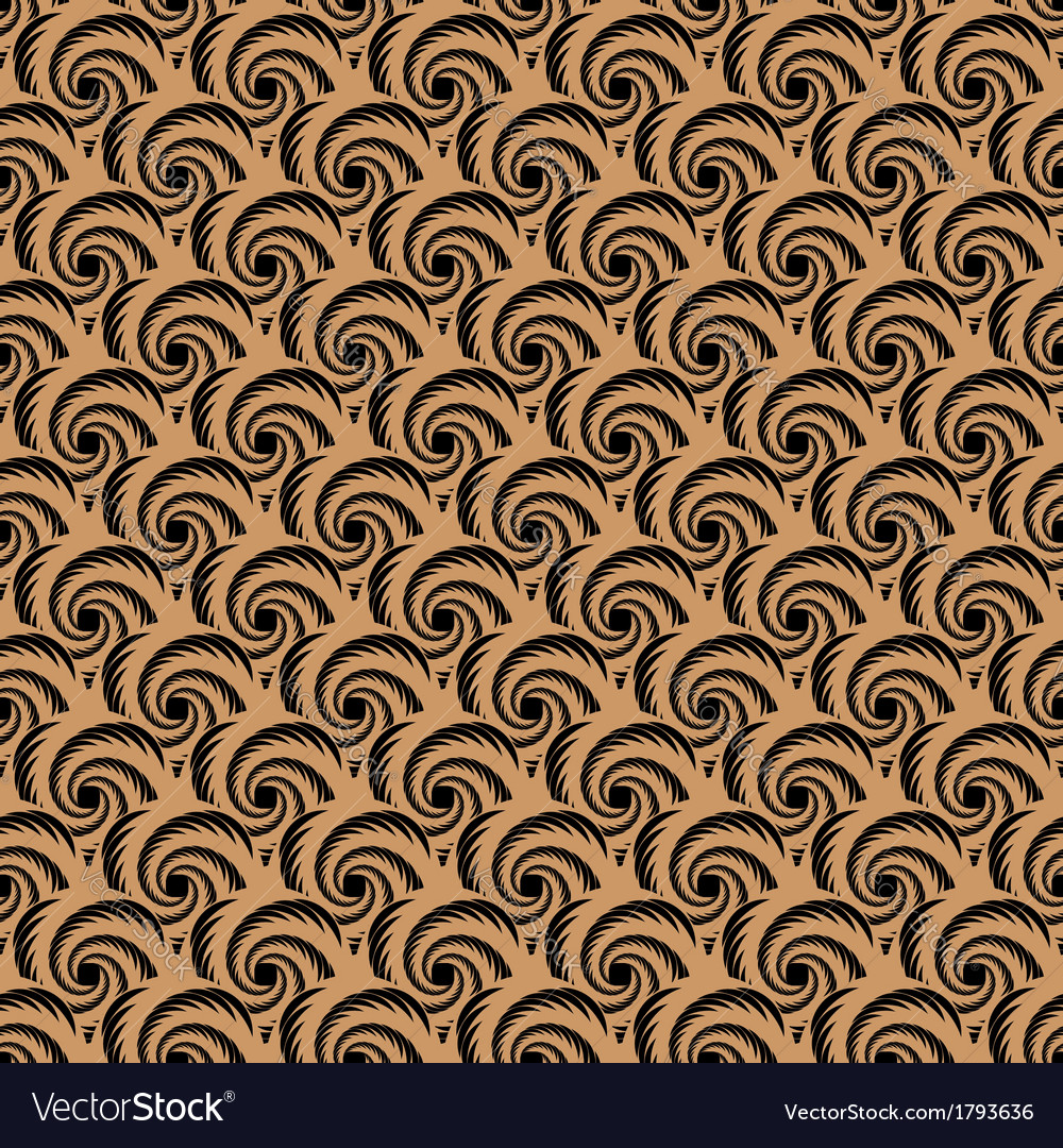 Design seamless spiral whirl pattern vector   Price: 1 Credit (USD $1)