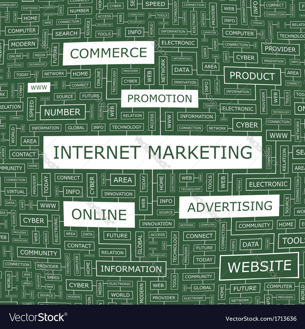 Internet marketing vector | Price: 1 Credit (USD $1)