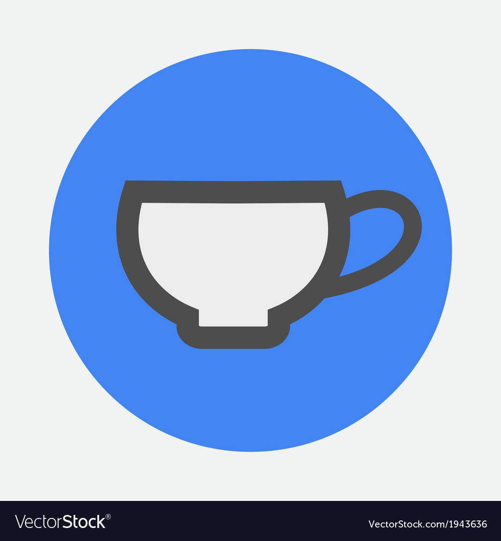 Little cup icon vector | Price: 1 Credit (USD $1)