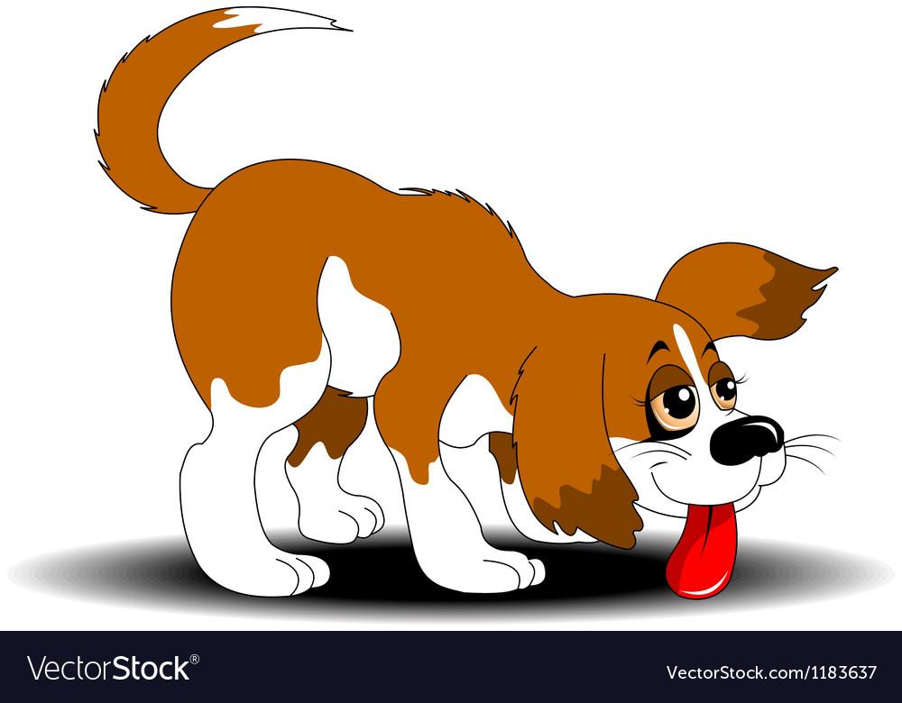 A good dog vector | Price: 1 Credit (USD $1)