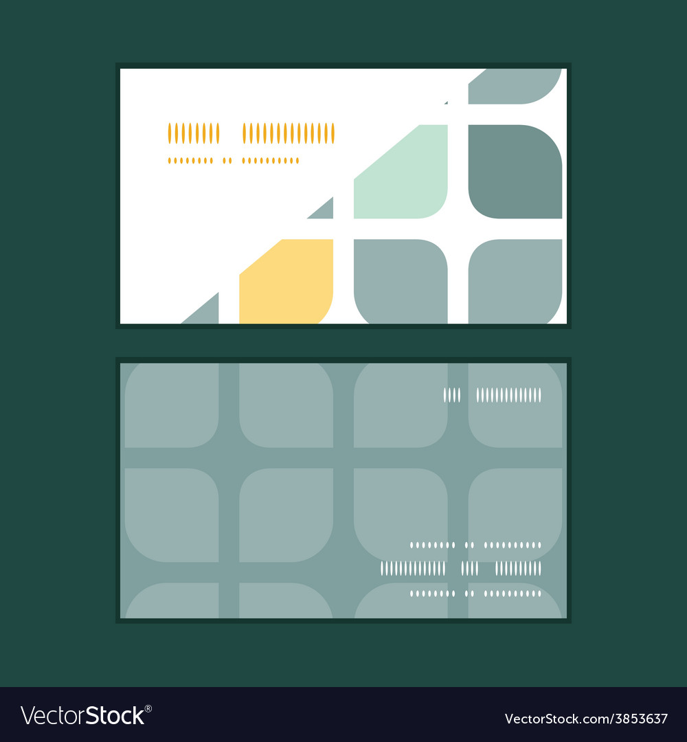 Abstract gray yellow rounded squares vector | Price: 1 Credit (USD $1)