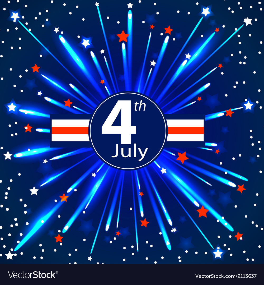 Independence day - 4 th july eps 10 vector | Price: 1 Credit (USD $1)