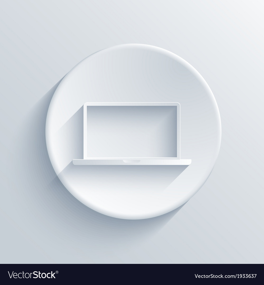 Light circle icon eps10 vector | Price: 1 Credit (USD $1)