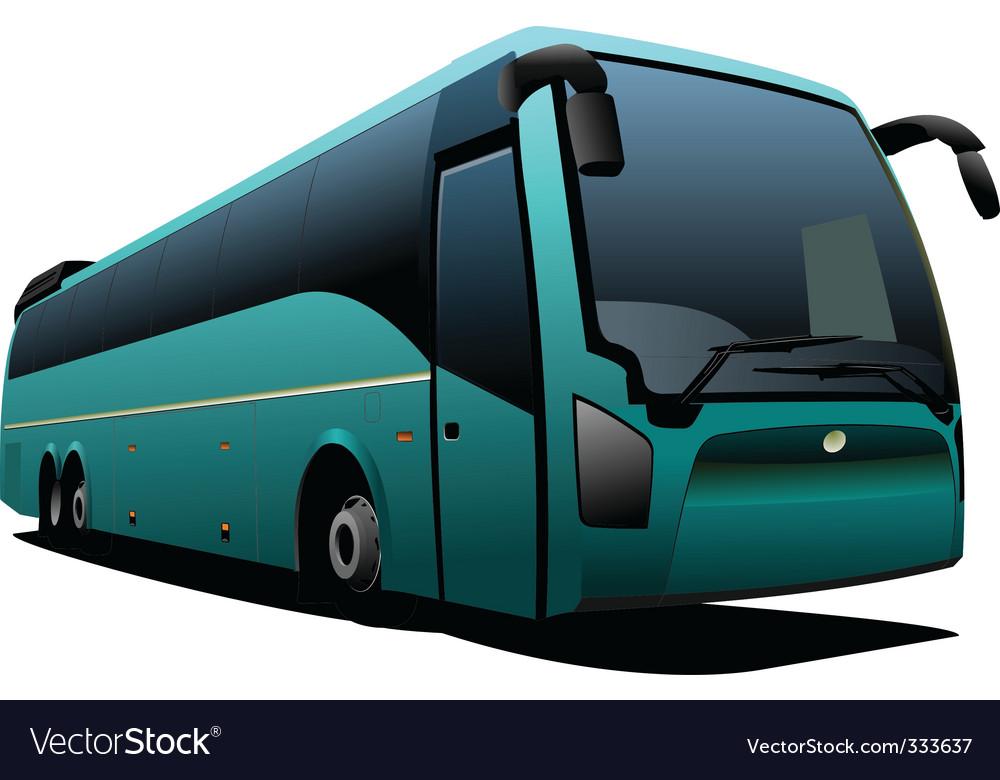 Tourist coach vector   Price: 1 Credit (USD $1)