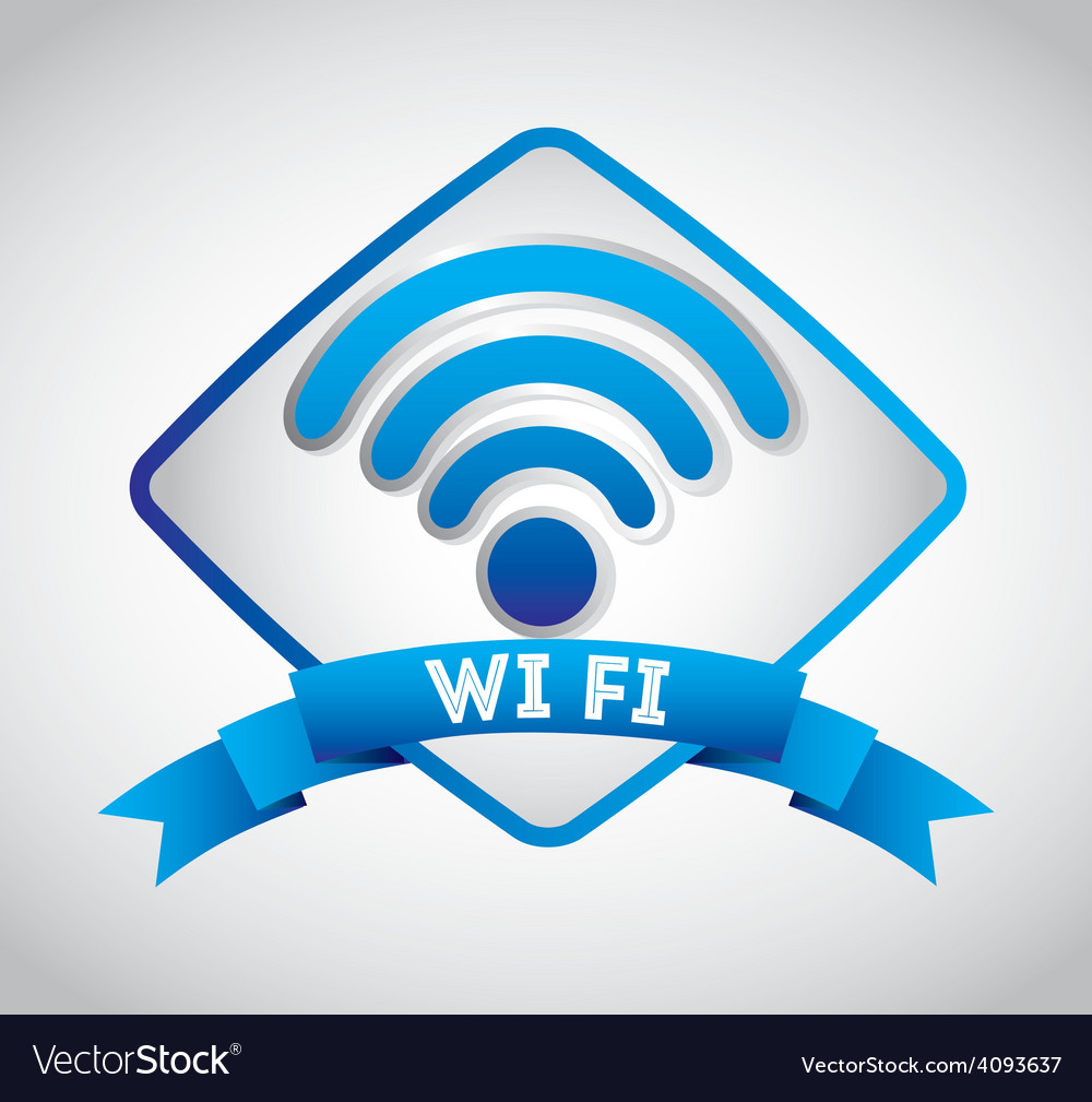 Wifi zone design vector | Price: 1 Credit (USD $1)