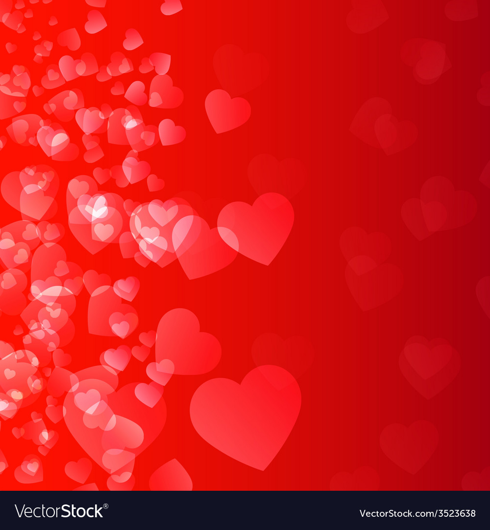 Abstract background flame and hearts vector | Price: 1 Credit (USD $1)