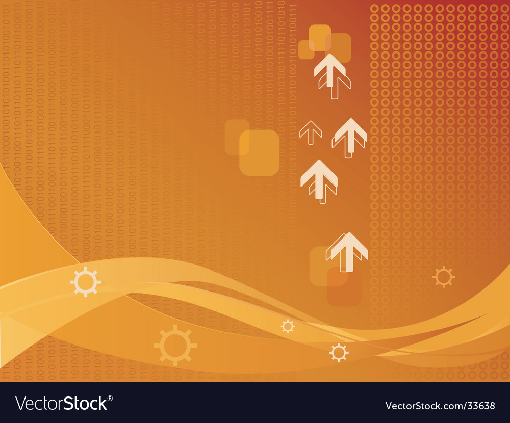 Background of arrows and wave vector | Price: 1 Credit (USD $1)