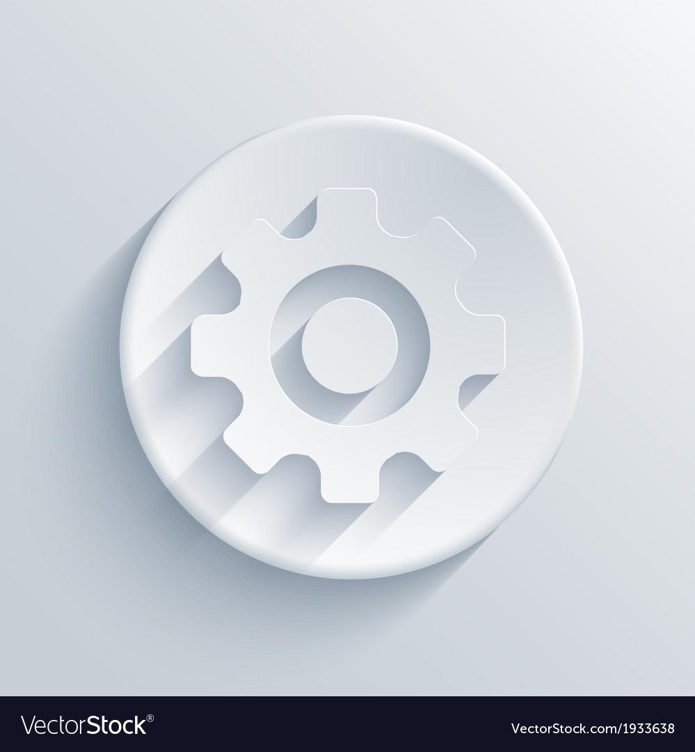 Light circle icon eps10 vector | Price: 1 Credit (USD $1)