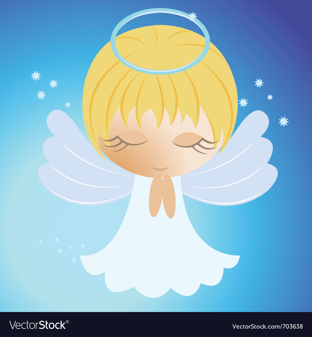 Little angel vector | Price: 1 Credit (USD $1)