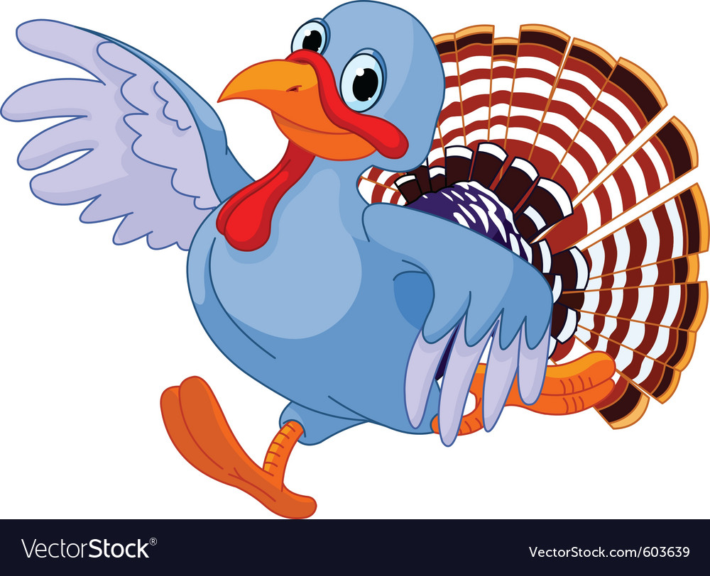 Cartoon turkey vector | Price: 1 Credit (USD $1)