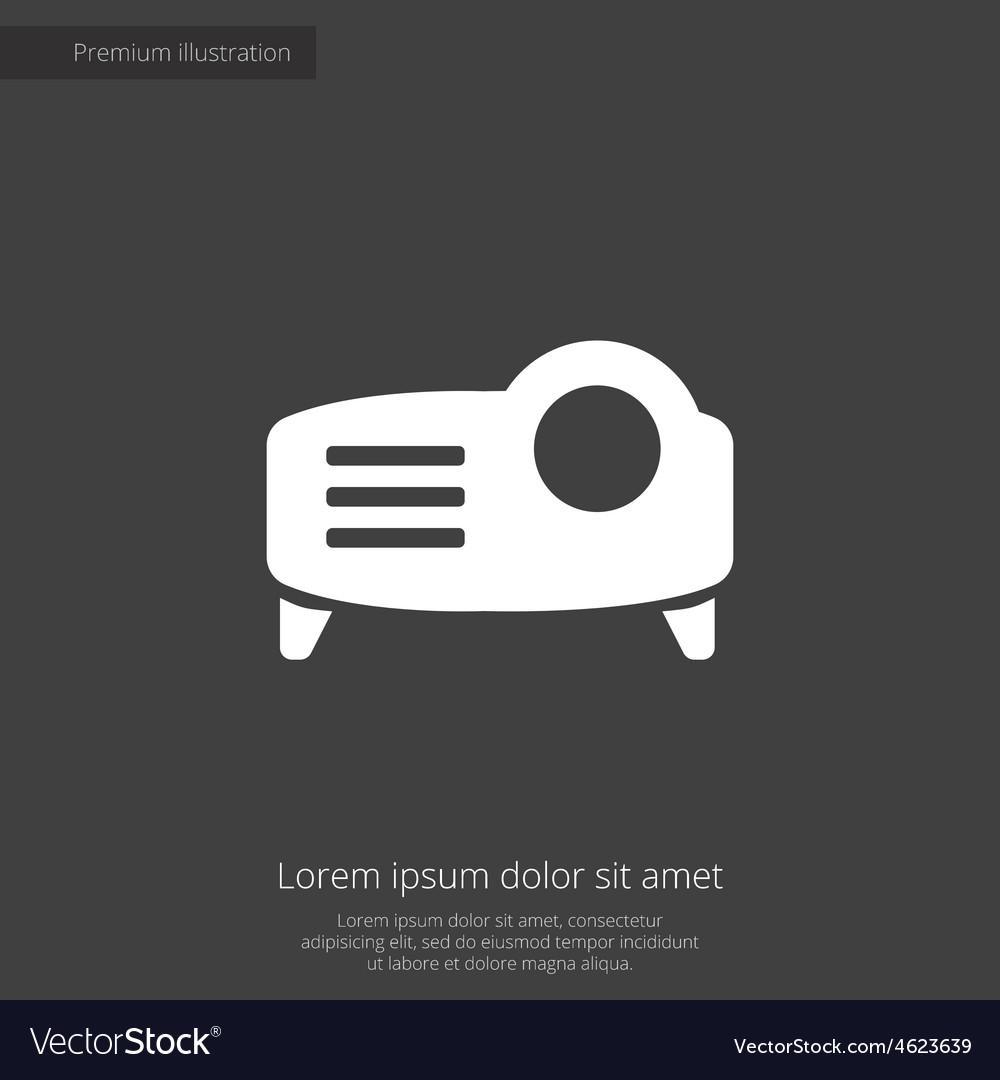 Projector premium icon vector   Price: 1 Credit (USD $1)