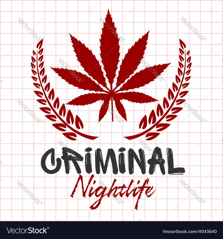 Bandits and hooligans - emblem of criminal vector | Price: 1 Credit (USD $1)