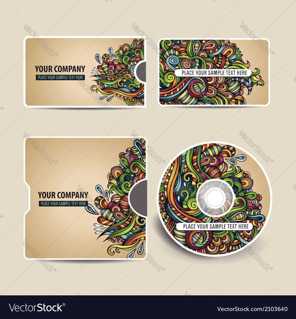 Corporate identity set vector | Price: 1 Credit (USD $1)
