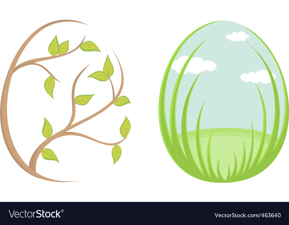 Spring eggs vector | Price: 1 Credit (USD $1)