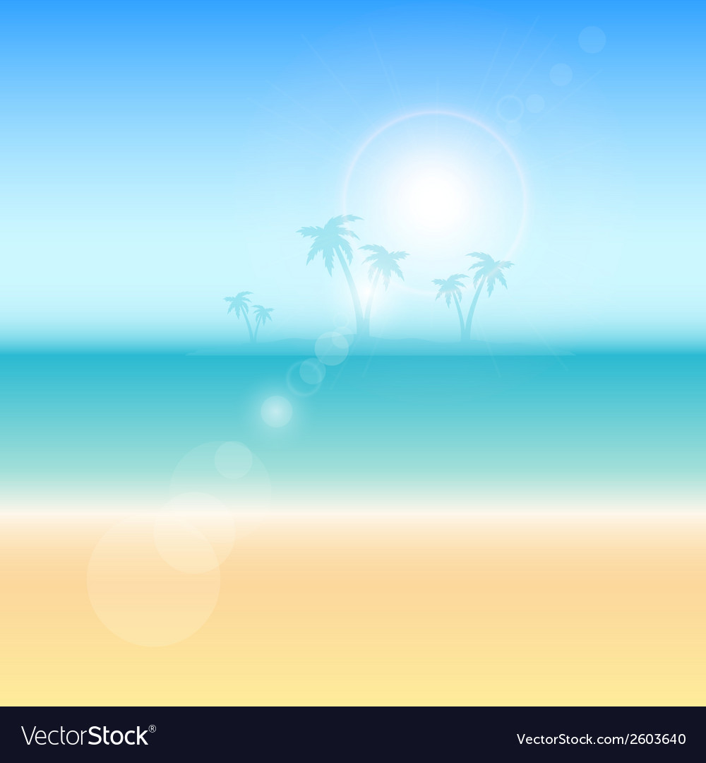Summer themed background vector | Price: 1 Credit (USD $1)