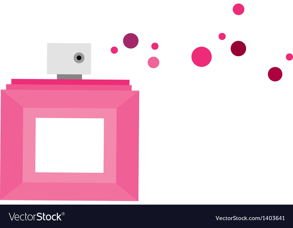 A perfume is placed vector | Price: 1 Credit (USD $1)