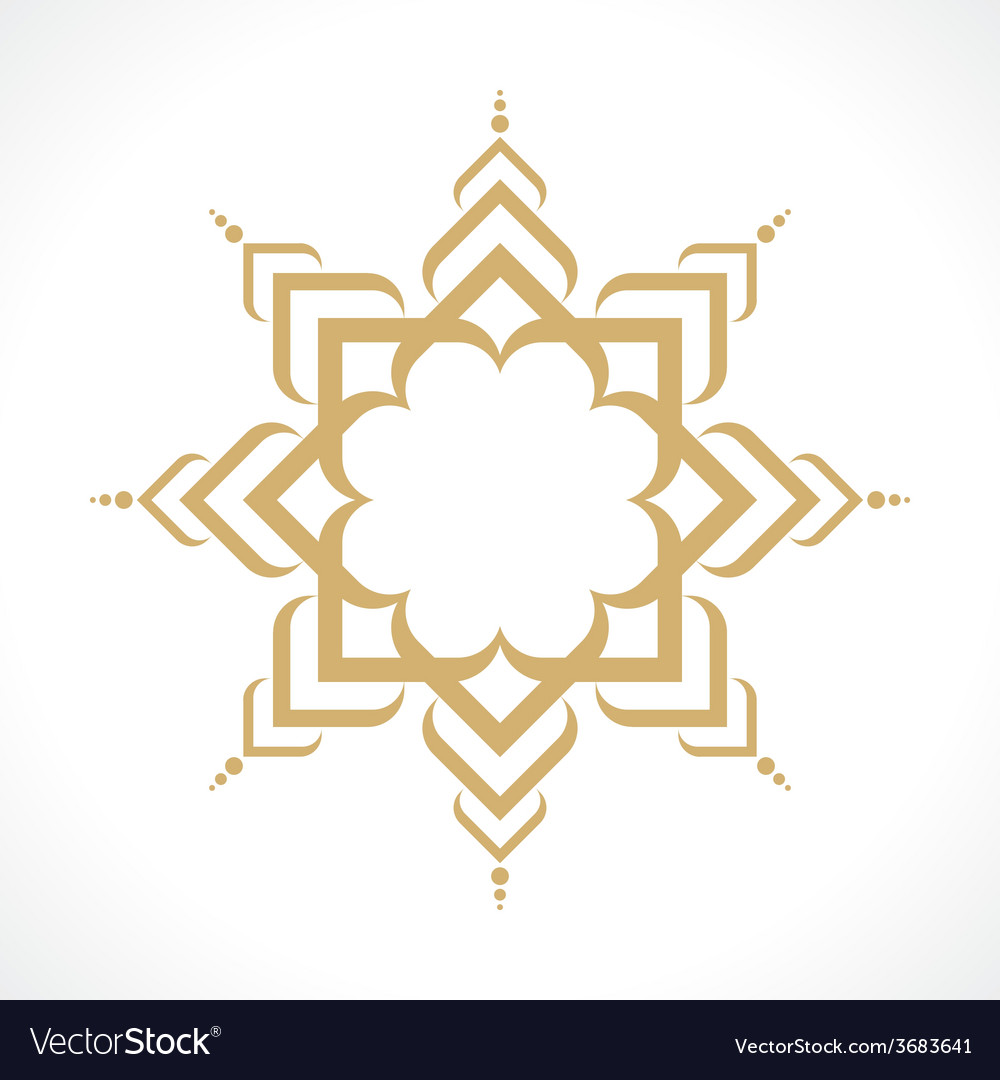Oriental pattern vector | Price: 1 Credit (USD $1)