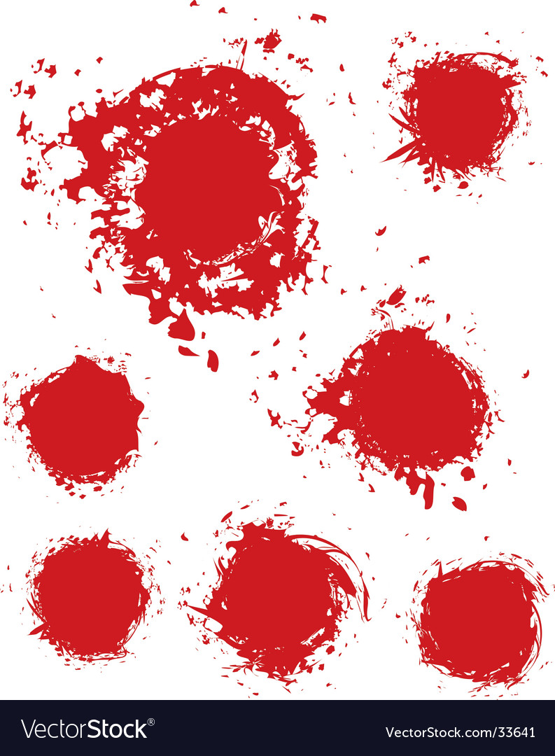 Stain ink splatter vector | Price: 1 Credit (USD $1)