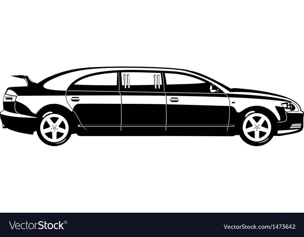 Limousine vector | Price: 1 Credit (USD $1)