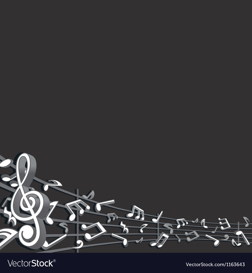 Abstract music background image vector | Price: 1 Credit (USD $1)