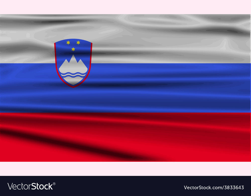 Flag of slovenia with old texture vector   Price: 1 Credit (USD $1)