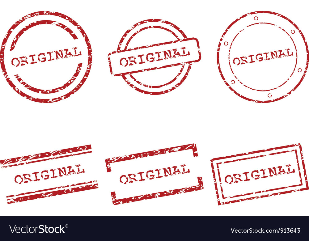 Original stamps vector | Price: 1 Credit (USD $1)