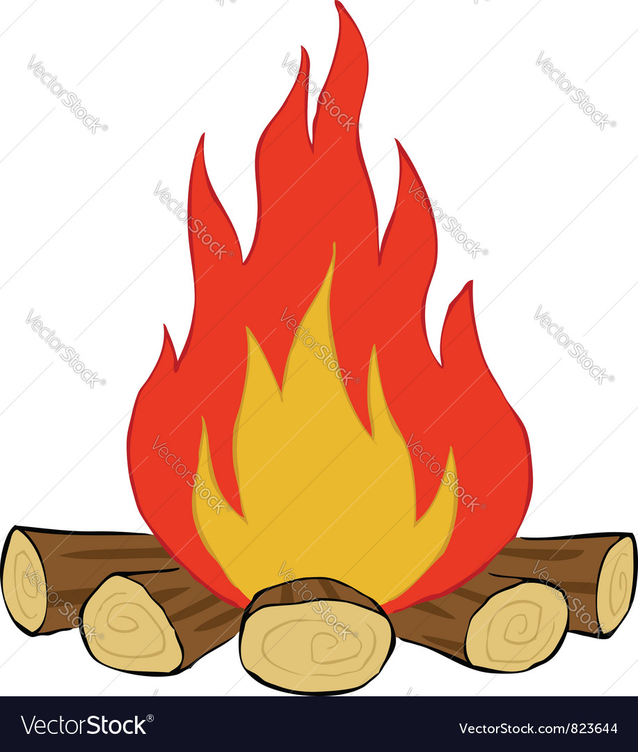 Bonfire vector | Price: 1 Credit (USD $1)