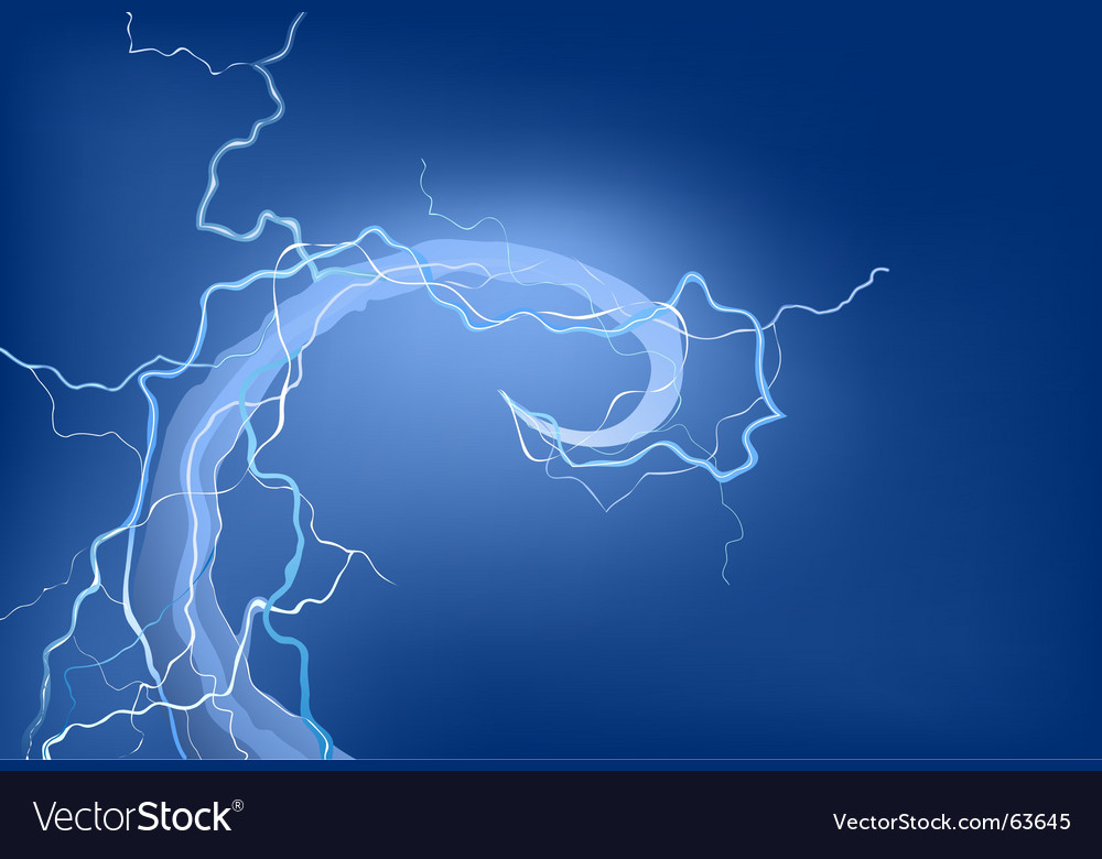 Electrical storm vector | Price: 1 Credit (USD $1)