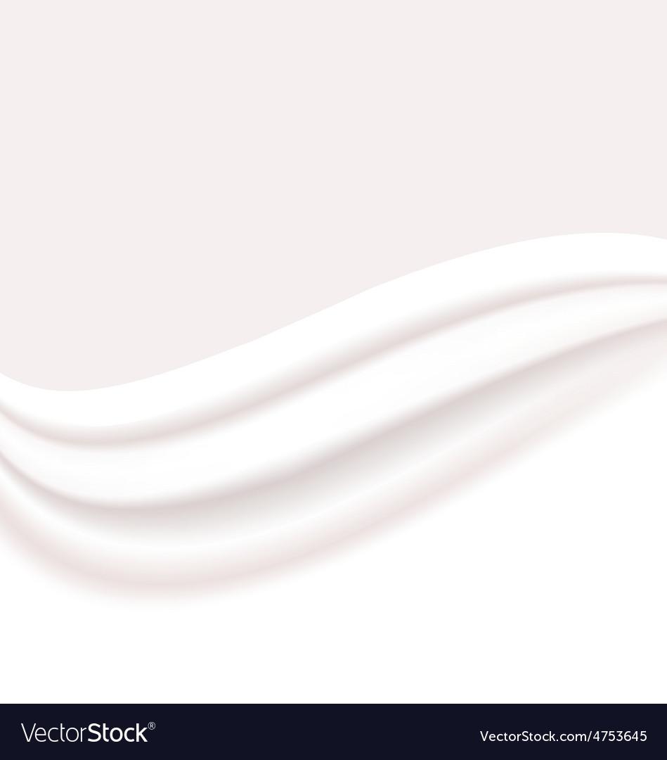 Milky or creamy wavy background vector   Price: 1 Credit (USD $1)